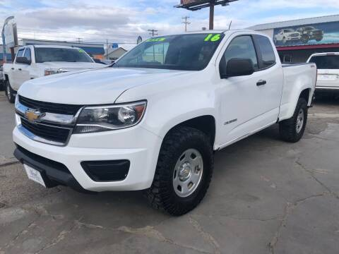2016 Chevrolet Colorado for sale at MAGIC AUTO SALES, LLC in Nampa ID