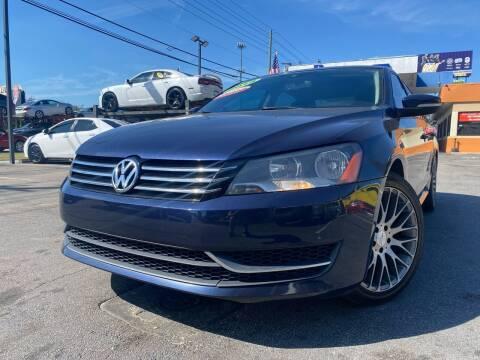 2015 Volkswagen Passat for sale at LATINOS MOTOR OF ORLANDO in Orlando FL
