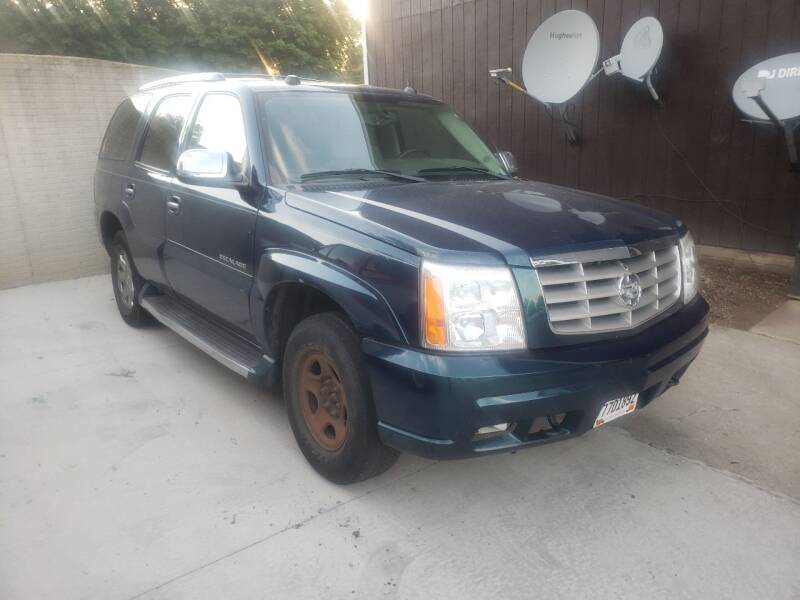 2005 Cadillac Escalade for sale at ZITTERICH AUTO SALE'S in Sioux Falls SD