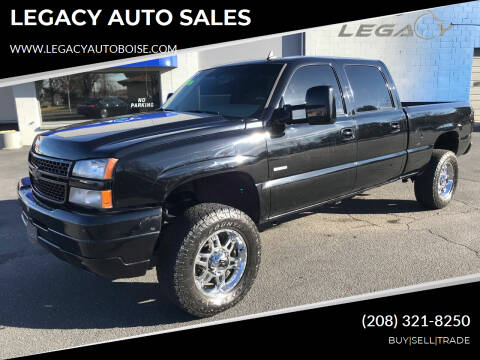 2006 Chevrolet Silverado 2500HD for sale at LEGACY AUTO SALES in Boise ID
