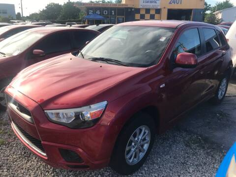 2011 Mitsubishi Outlander Sport for sale at Dulux Auto Sales Inc & Car Rental in Hollywood FL