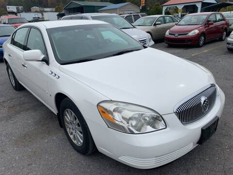2008 Buick Lucerne for sale at BURNWORTH AUTO INC in Windber PA