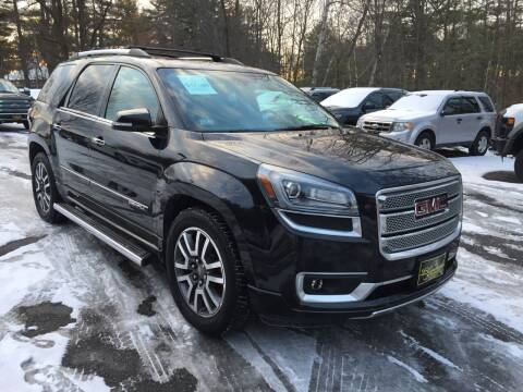 2014 GMC Acadia for sale at Bladecki Auto in Belmont NH