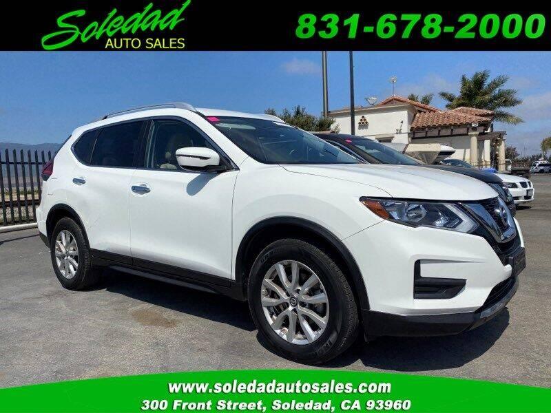 2017 Nissan Rogue for sale at Soledad Auto Sales in Soledad CA