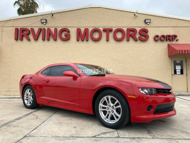2015 Chevrolet Camaro for sale at Irving Motors Corp in San Antonio TX