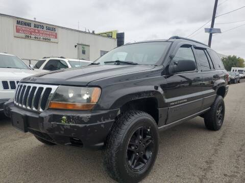 2002 Jeep Grand Cherokee for sale at MENNE AUTO SALES LLC in Hasbrouck Heights NJ