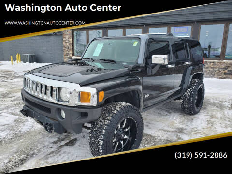 2008 HUMMER H3 for sale at Washington Auto Center in Washington IA