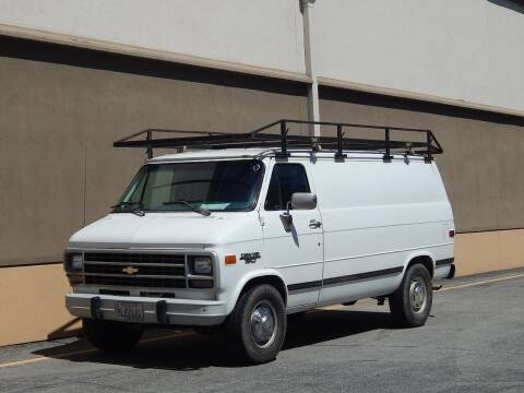 1995 Chevrolet Chevy Van for sale at Gilroy Motorsports in Gilroy CA