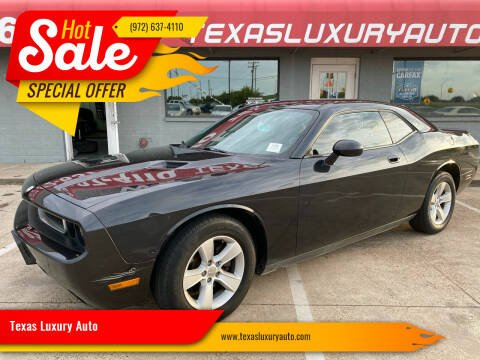 2010 Dodge Challenger for sale at Texas Luxury Auto in Cedar Hill TX