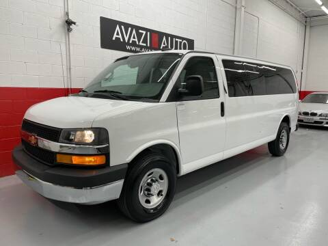 2017 Chevrolet Express Passenger for sale at AVAZI AUTO GROUP LLC in Gaithersburg MD