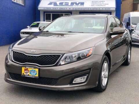 2015 Kia Optima for sale at AGM AUTO SALES in Malden MA