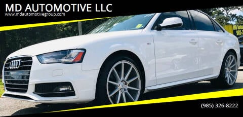 2016 Audi A4 for sale at MD AUTOMOTIVE LLC in Slidell LA
