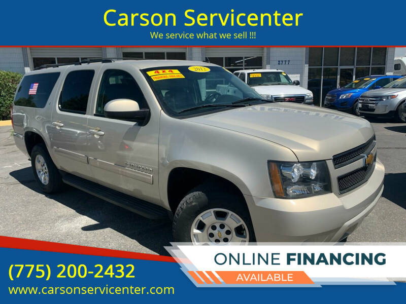 2012 Chevrolet Suburban for sale at Carson Servicenter in Carson City NV