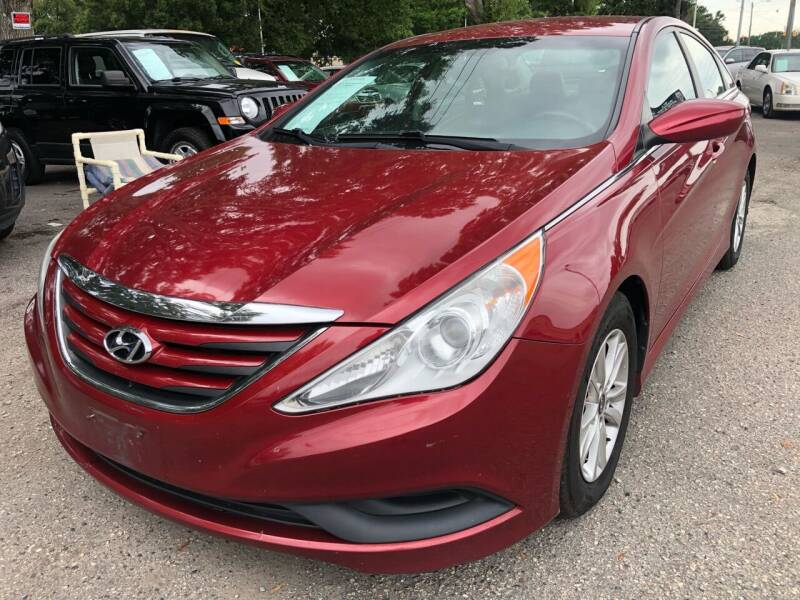 2014 Hyundai Sonata for sale at Atlantic Auto Sales in Garner NC