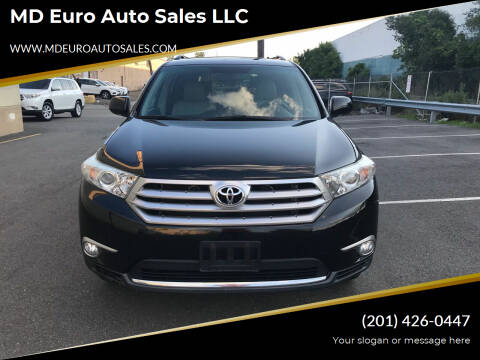 2011 Toyota Highlander for sale at MD Euro Auto Sales LLC in Hasbrouck Heights NJ
