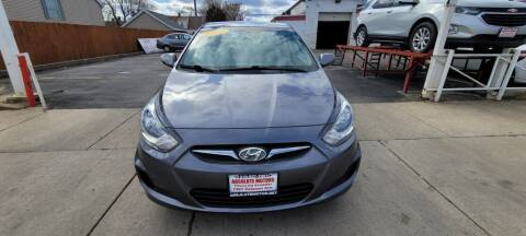 2014 Hyundai Accent for sale at Absolute Motors in Hammond IN