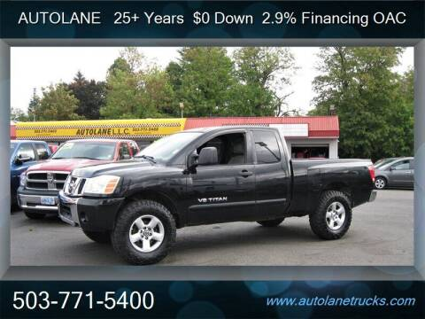 2007 Nissan Titan for sale at Auto Lane in Portland OR