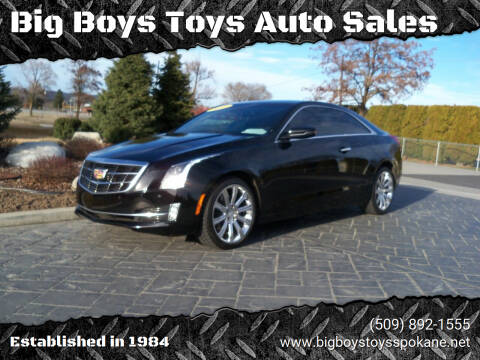 2015 Cadillac ATS for sale at Big Boys Toys Auto Sales in Spokane Valley WA