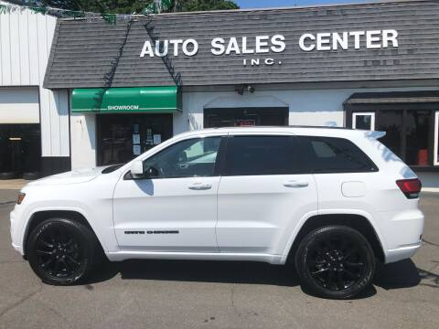 2018 Jeep Grand Cherokee for sale at Auto Sales Center Inc in Holyoke MA