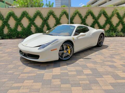 2013 Ferrari 458 Spider for sale at ROGERS MOTORCARS in Houston TX