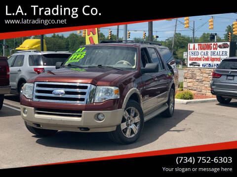 2007 Ford Expedition EL for sale at L.A. Trading Co. in Woodhaven MI