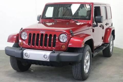 2013 Jeep Wrangler Unlimited for sale at Clawson Auto Sales in Clawson MI