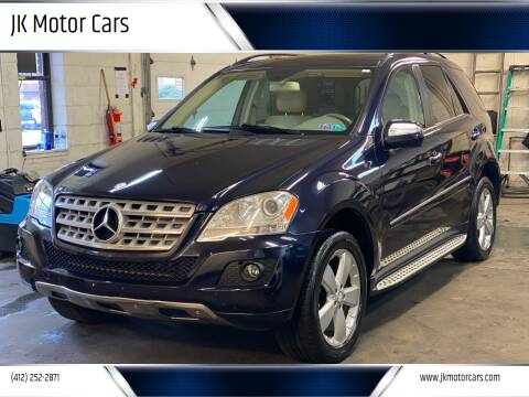 2009 Mercedes-Benz M-Class for sale at JK Motor Cars in Pittsburgh PA