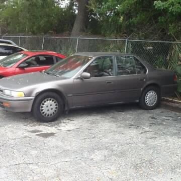 1993 Honda Accord for sale at Easy Credit Auto Sales in Cocoa FL