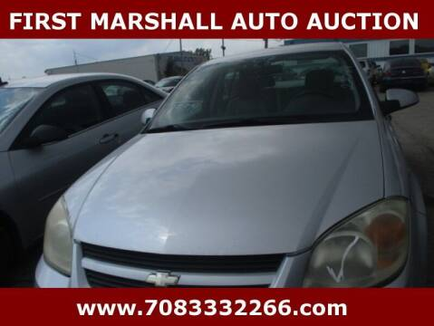 2007 Chevrolet Cobalt for sale at First Marshall Auto Auction in Harvey IL