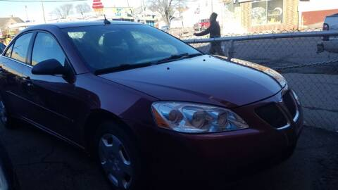 2008 Pontiac G6 for sale at The Bengal Auto Sales LLC in Hamtramck MI