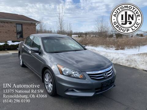 2012 Honda Accord for sale at IJN Automotive Group LLC in Reynoldsburg OH