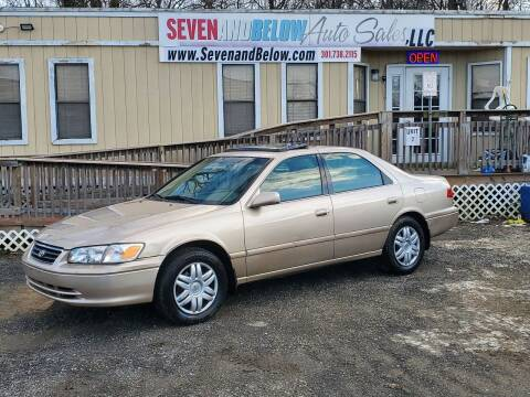 2000 Toyota Camry for sale at Seven and Below Auto Sales, LLC in Rockville MD