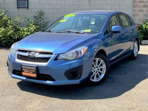 2014 Subaru Impreza for sale at Somerville Motors in Somerville MA