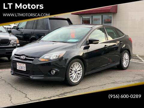 2014 Ford Focus for sale at LT Motors in Rancho Cordova CA