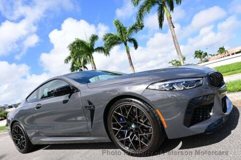 2020 BMW M8 for sale at MOTORCARS in West Palm Beach FL