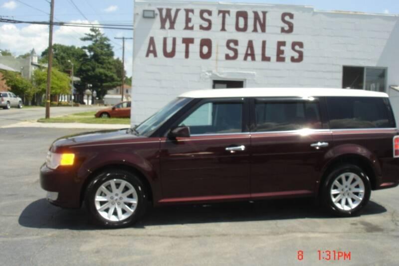 2012 Ford Flex for sale at Weston's Auto Sales, Inc in Crewe VA