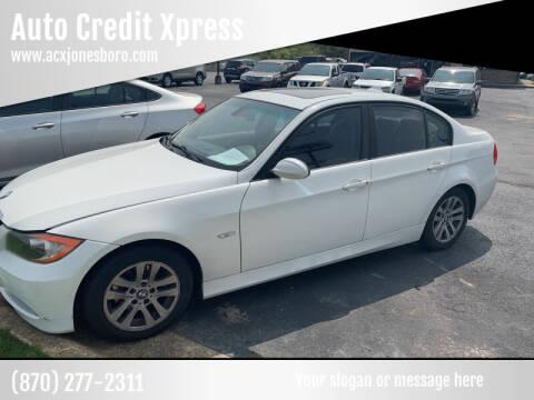 2007 BMW 3 Series for sale at Auto Credit Xpress - Jonesboro in Jonesboro AR