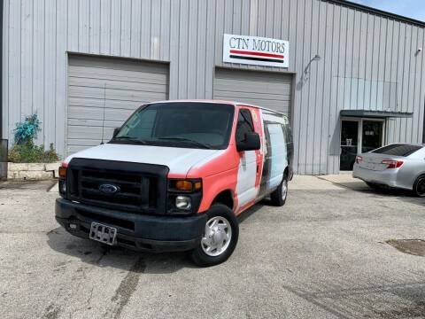 2008 Ford E-Series Cargo for sale at CTN MOTORS in Houston TX