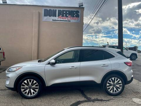 2020 Ford Escape for sale at Don Reeves Auto Center in Farmington NM