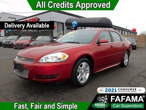 2015 Chevrolet Impala Limited for sale at FAFAMA AUTO SALES Inc in Milford MA