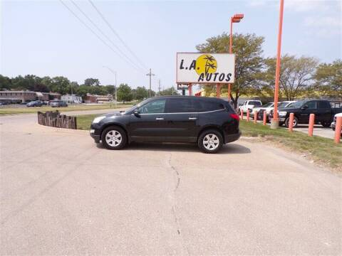 2011 Chevrolet Traverse for sale at L A AUTOS in Omaha NE
