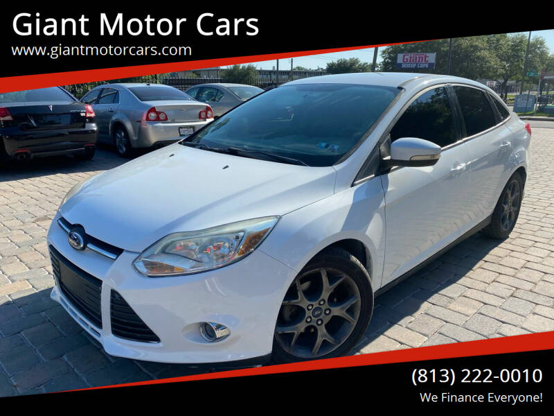 2013 Ford Focus for sale at Giant Motor Cars in Tampa FL