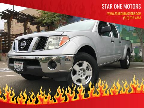 2008 Nissan Frontier for sale at Star One Motors in Hayward CA