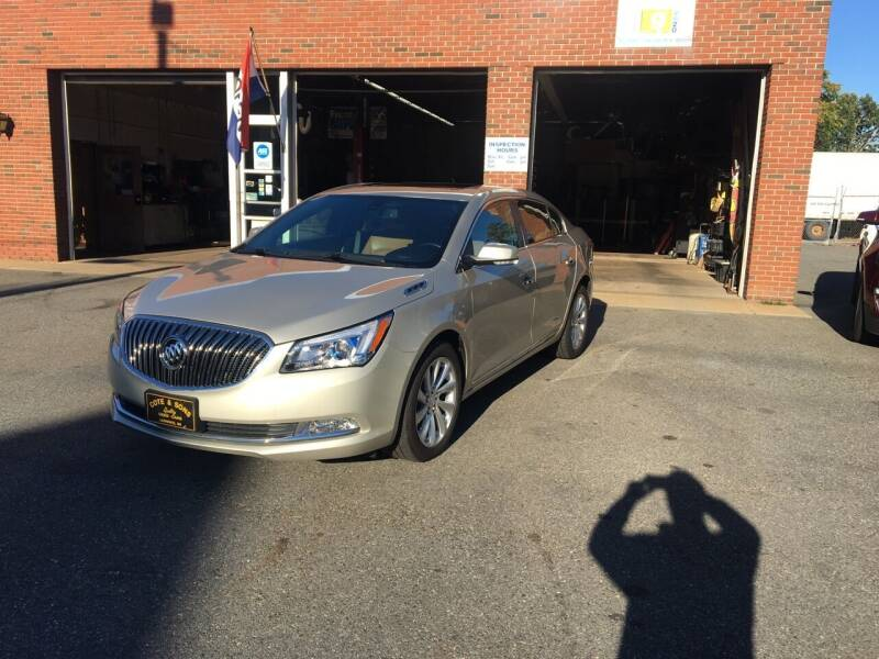 2016 Buick LaCrosse for sale at Cote & Sons Automotive Ctr in Lawrence MA