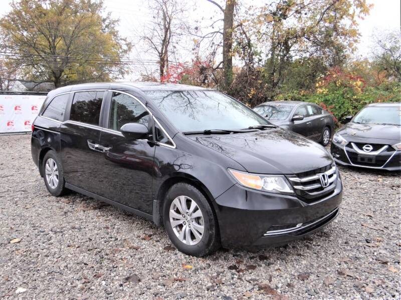 2016 Honda Odyssey for sale at Premier Auto & Parts in Elyria OH