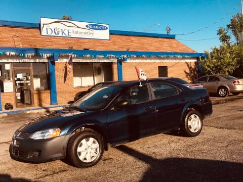 2006 Dodge Stratus for sale at Duke Automotive Group in Cincinnati OH