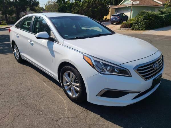 2017 Hyundai Sonata for sale at CAR CITY SALES in La Crescenta CA