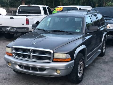 2003 Dodge Durango for sale at L G AUTO SALES in Boynton Beach FL