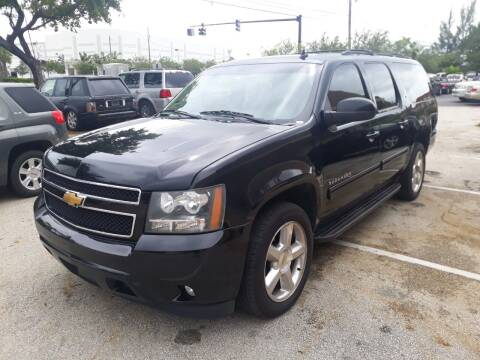 2014 Chevrolet Suburban for sale at LAND & SEA BROKERS INC in Deerfield FL