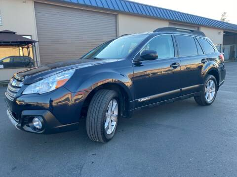 2013 Subaru Outback for sale at Exelon Auto Sales in Auburn WA